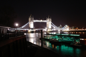 Tower Bridge at night-print