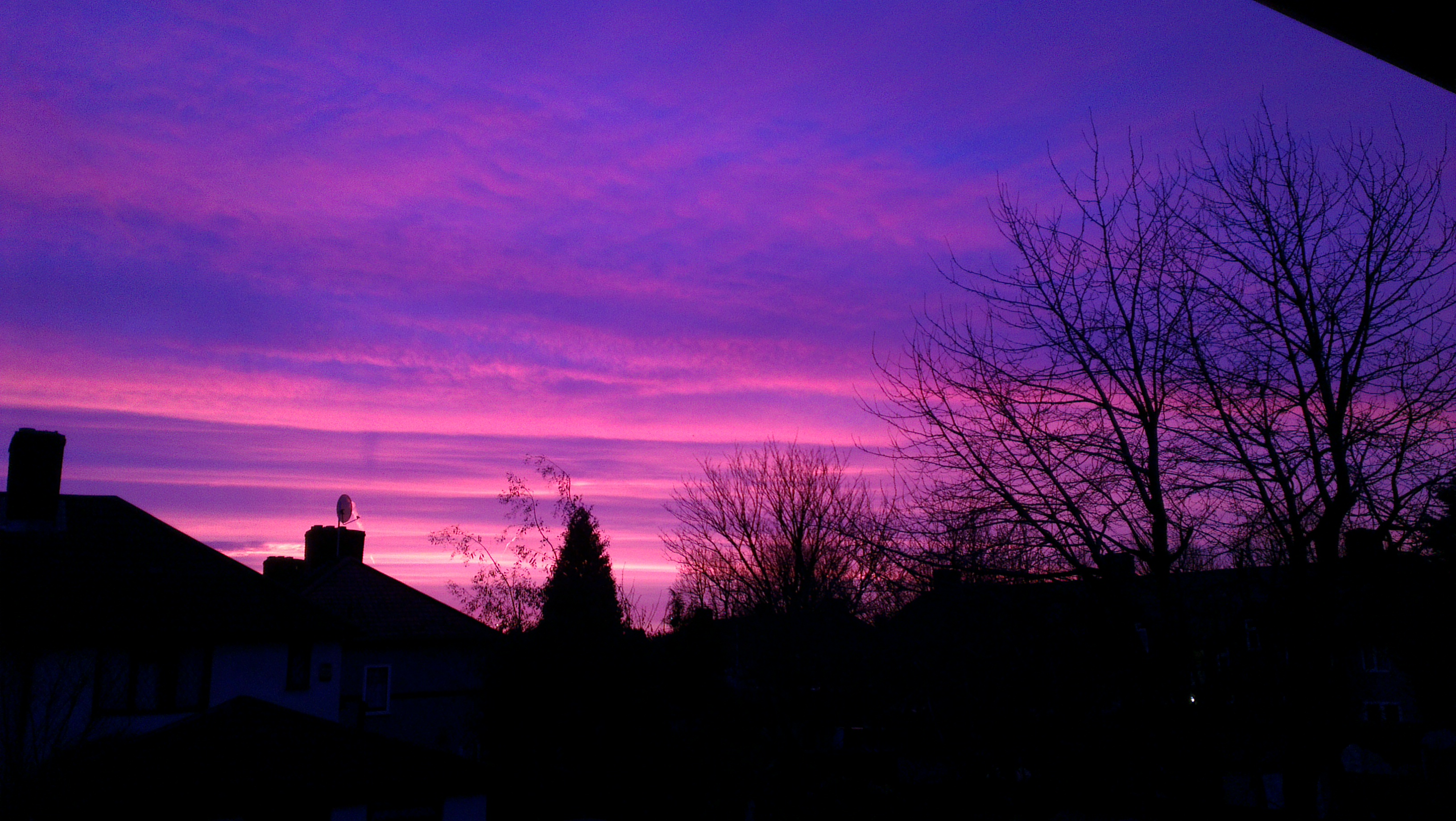 Purple Night Sky.12
